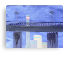 West Gate and Newport Canvas Print