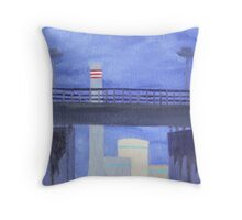 West Gate and Newport Throw Pillow
