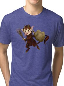 The Littlest Krampus Tri-blend T-Shirt