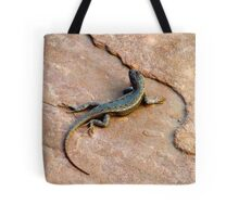 My Backyard Lizard Tote Bag