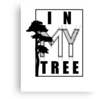 In My Tree Canvas Print