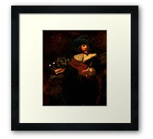 Steampunk Rembrandt - The Night Watch Framed Print