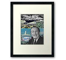 Walt Disney's EPCOT Center Framed Print