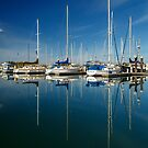Boats And Masts by James Eddy