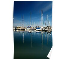 Boats And Masts Poster