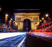 Joyeux Noël : Champs-Élysées by Austen Risolvato