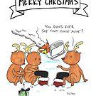 Christmas Reindeer by RobStears