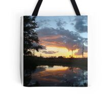 December Sunset 2014 Tote Bag