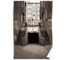 Twin Stairs Poster
