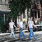 Abbey Road Wannabes by Michael Farruggia