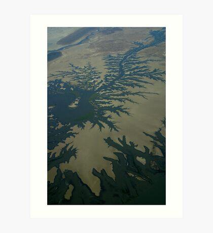 Tidal Creeks  Art Print