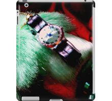 Time For Red And Green Stuff iPad Case/Skin