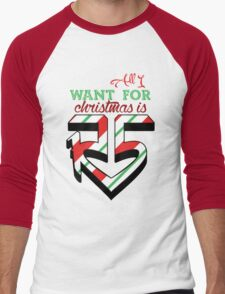 All I Want For Christmas is R5 Men's Baseball ¾ T-Shirt