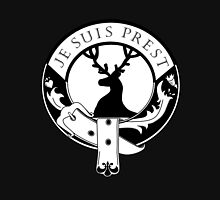 Je Suis Prest Stag Womens Fitted T-Shirt