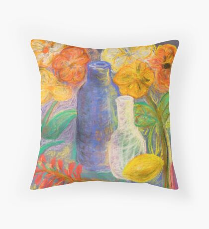 community still life Throw Pillow