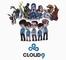 dota 2 cloud9 crew by designjob