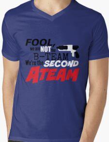 Second A Team Mens V-Neck T-Shirt