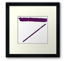 TMNT Donatello icon Framed Print