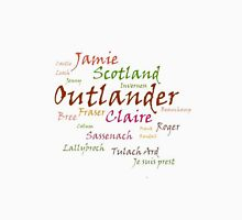Outlander Words Womens Fitted T-Shirt