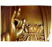 Buddha Hand 3 Poster