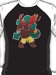 A Bear and Bird T-Shirt