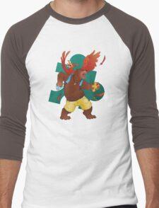 A Bear and Bird Men's Baseball ¾ T-Shirt