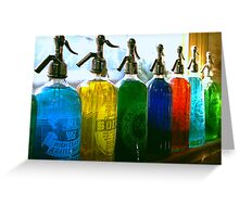 Pour Me a Rainbow Greeting Card