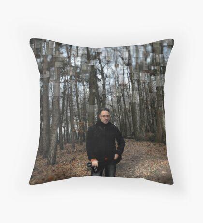 Belgium Forest Throw Pillow