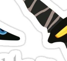 Tonight we HUNT - Rengar [black background] Sticker