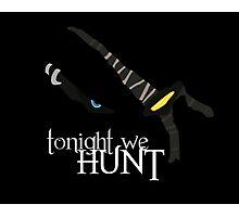 Tonight we HUNT - Rengar [black background] Photographic Print