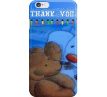Thank you so very much iPhone Case/Skin