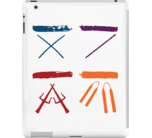 TMNT all icons! iPad Case/Skin