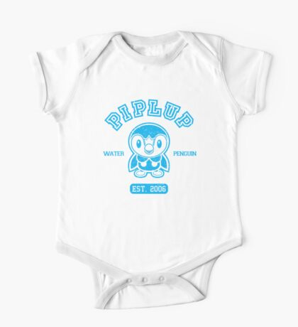 Piplup - College Style One Piece - Short Sleeve