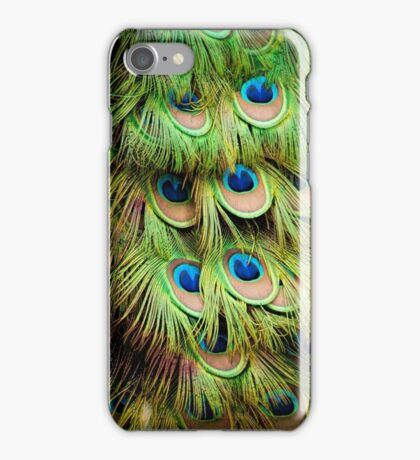 Peacock Colour iPhone Case/Skin