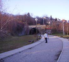Tunel na putu za Sljeme by Astrica