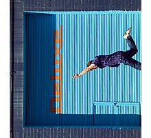 John Robb Goes Diving Photographic Print