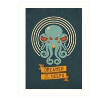 Cthulhu, Dreamer in the Deeps Art Print