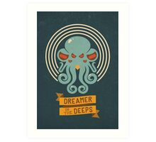 Cthulhu, Dreamer in the Deeps Art Print