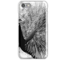 Peacock in Infra-red iPhone Case/Skin