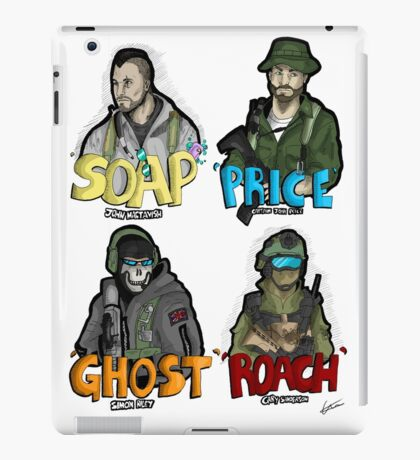 All those MW2 boys! iPad Case/Skin