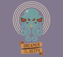 Cthulhu, Dreamer in the Deeps Kids Tee