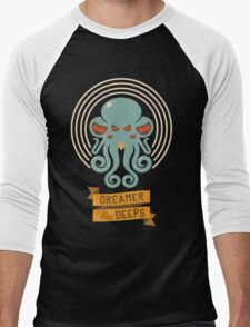 Cthulhu, Dreamer in the Deeps Men's Baseball ¾ T-Shirt