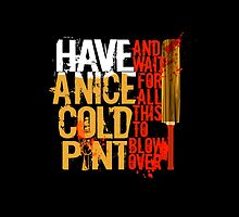 Nice Cold Pint by DoodleHeadDee