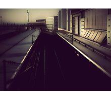 { train station } Photographic Print