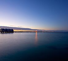 Busselton Jetty after dusk by Martin Pot