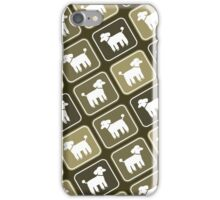 Poodle Graphic iPhone Case/Skin