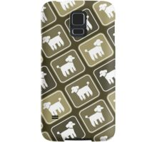 Poodle Graphic Samsung Galaxy Case/Skin