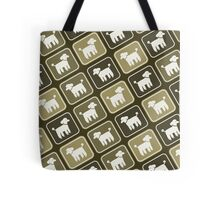 Poodle Graphic Tote Bag