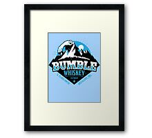 S. Claus Distillery - Bumble Whiskey Framed Print