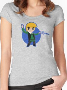 The Legend of Zelda: Conductor of Winds Women's Fitted Scoop T-Shirt